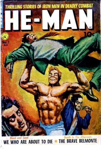 Cover for He-Man (Ziff-Davis, 1952 series) #1