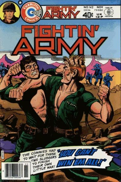 Cover for Fightin' Army (Charlton, 1956 series) #142