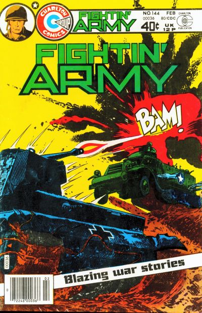 Cover for Fightin' Army (Charlton, 1956 series) #144