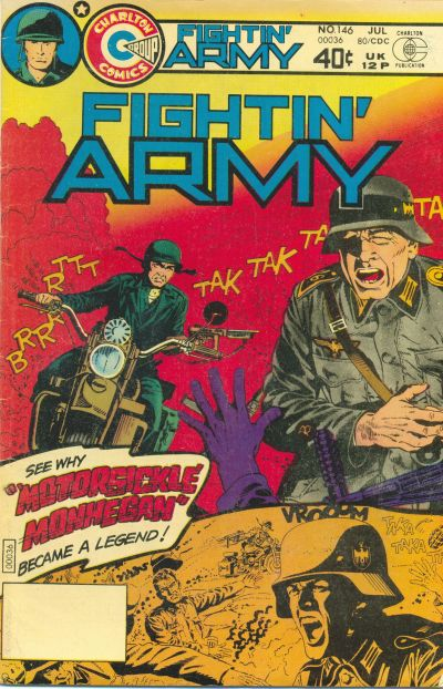 Cover for Fightin' Army (Charlton, 1956 series) #146