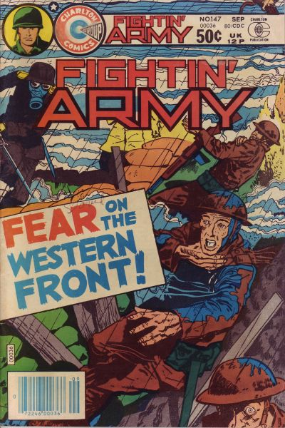 Cover for Fightin' Army (Charlton, 1956 series) #147
