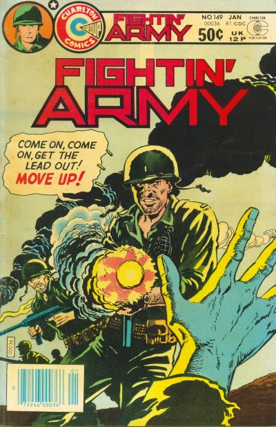 Cover for Fightin' Army (Charlton, 1956 series) #149