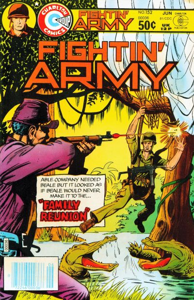 Cover for Fightin' Army (Charlton, 1956 series) #152
