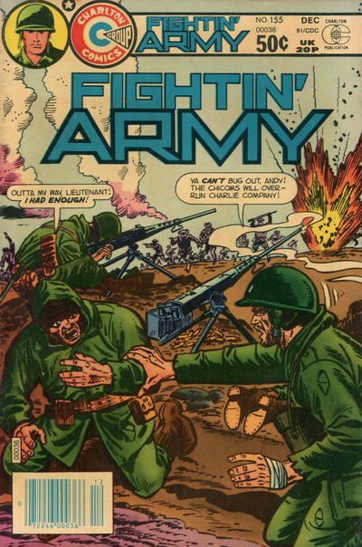 Cover for Fightin' Army (Charlton, 1956 series) #155