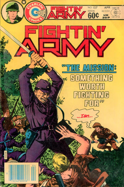 Cover for Fightin' Army (Charlton, 1956 series) #157