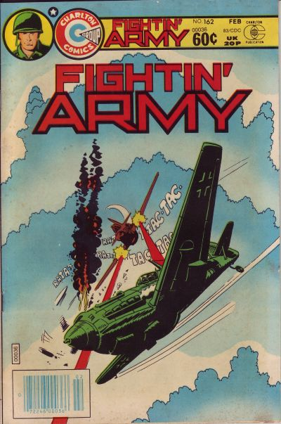Cover for Fightin' Army (Charlton, 1956 series) #162