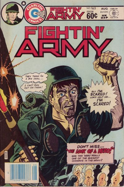 Cover for Fightin' Army (Charlton, 1956 series) #165