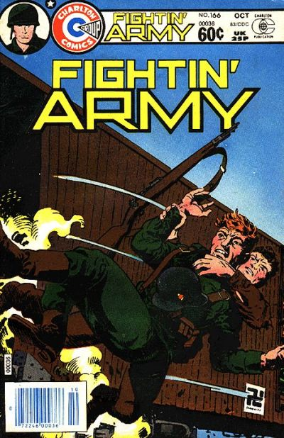 Cover for Fightin' Army (Charlton, 1956 series) #166