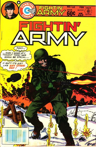 Cover for Fightin' Army (Charlton, 1956 series) #168