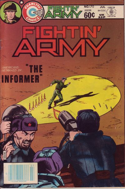 Cover for Fightin' Army (Charlton, 1956 series) #170