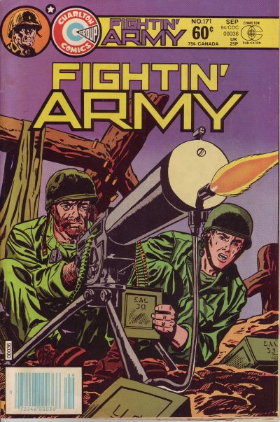 Cover for Fightin' Army (Charlton, 1956 series) #171