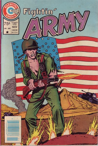 Cover for Fightin' Army (Charlton, 1956 series) #172