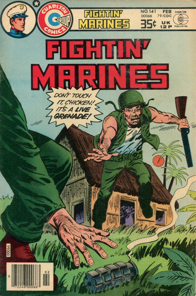 Cover for Fightin' Marines (Charlton, 1955 series) #141