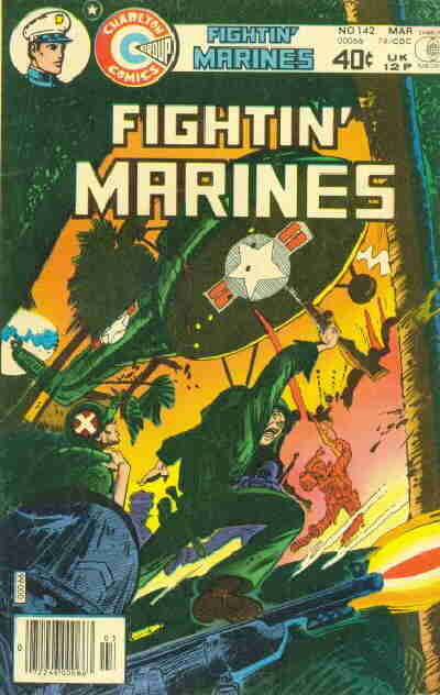 Cover for Fightin' Marines (Charlton, 1955 series) #142