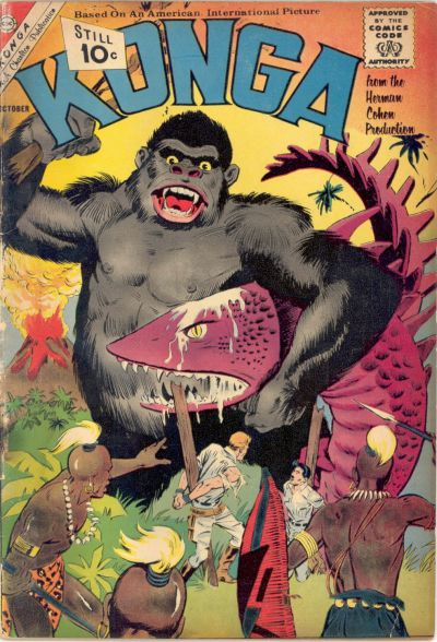 Cover for Konga (Charlton, 1960 series) #3
