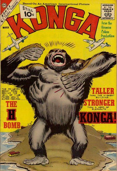 Cover for Konga (Charlton, 1960 series) #5