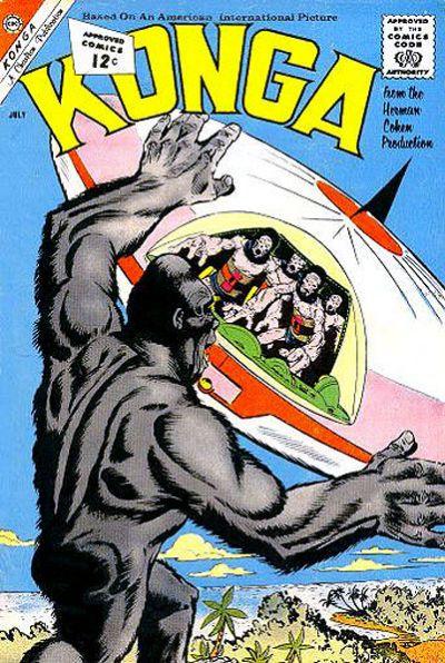 Cover for Konga (Charlton, 1960 series) #7