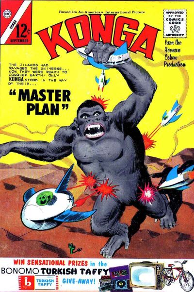 Cover for Konga (Charlton, 1960 series) #14
