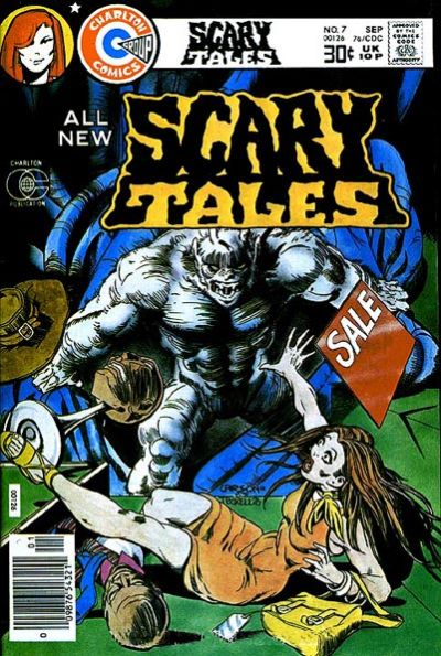 Cover for Scary Tales (Charlton, 1975 series) #7