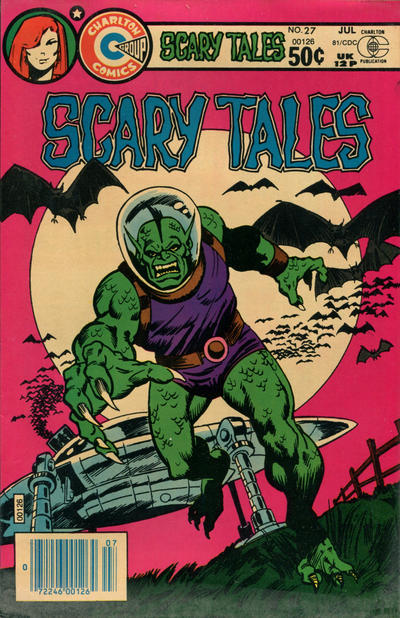 Cover for Scary Tales (Charlton, 1975 series) #27