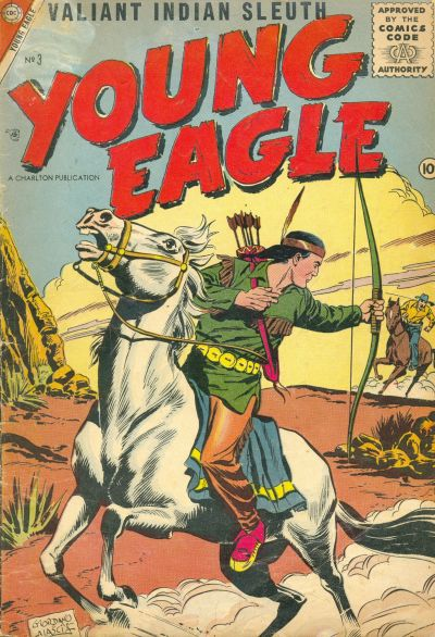 Cover for Young Eagle (Charlton, 1956 series) #3
