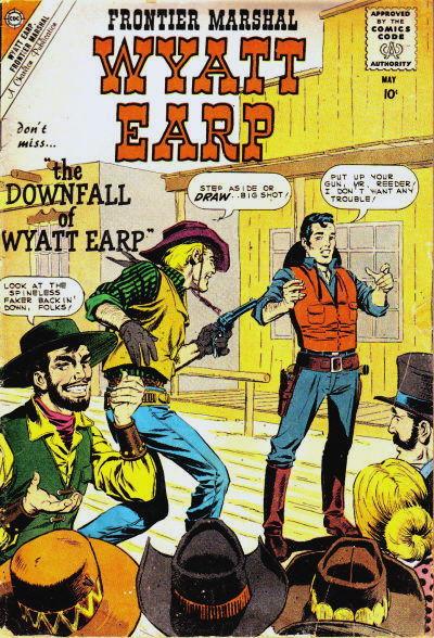 Cover for Wyatt Earp Frontier Marshal (Charlton, 1956 series) #30