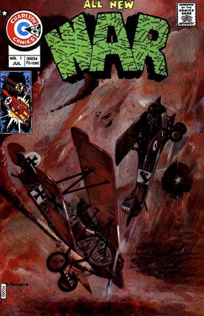 Cover for War (Charlton, 1975 series) #1