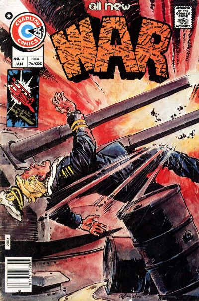 Cover for War (Charlton, 1975 series) #4