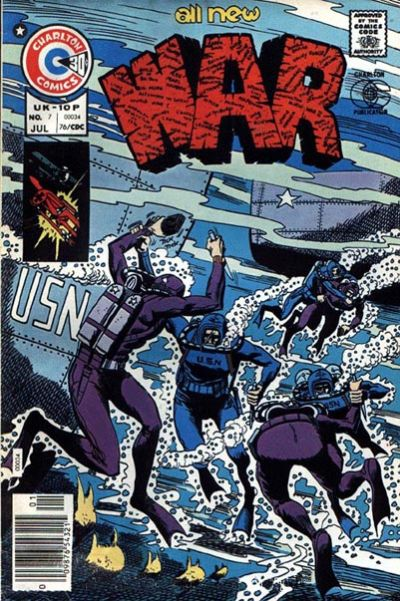 Cover for War (Charlton, 1975 series) #7