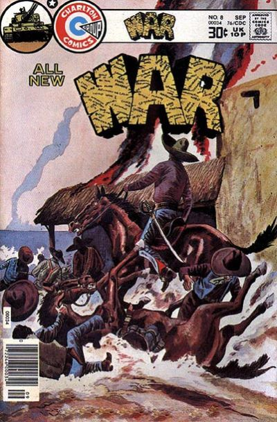 Cover for War (Charlton, 1975 series) #8