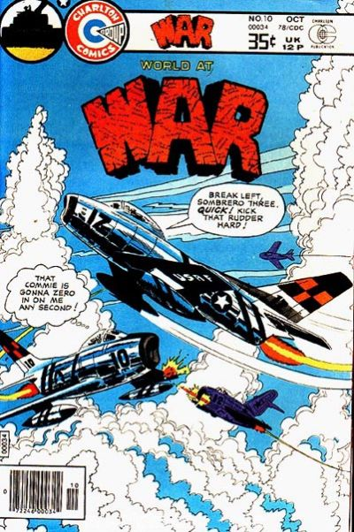 Cover for War (Charlton, 1975 series) #10