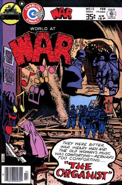 Cover for War (Charlton, 1975 series) #12