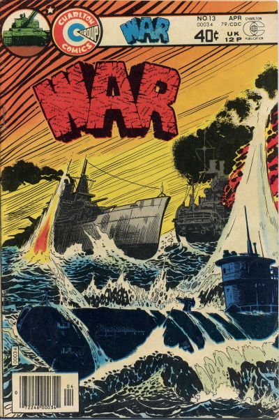 Cover for War (Charlton, 1975 series) #13