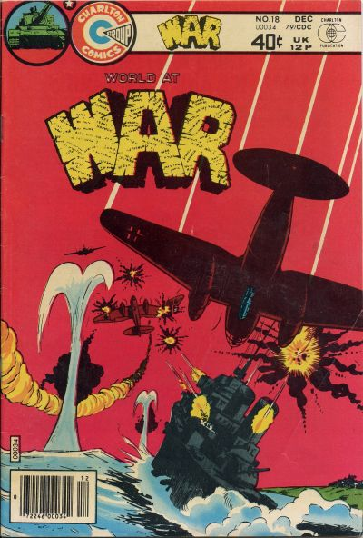 Cover for War (Charlton, 1975 series) #18