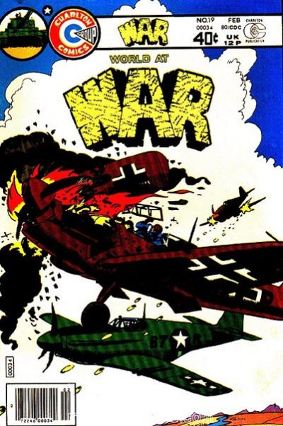 Cover for War (Charlton, 1975 series) #19