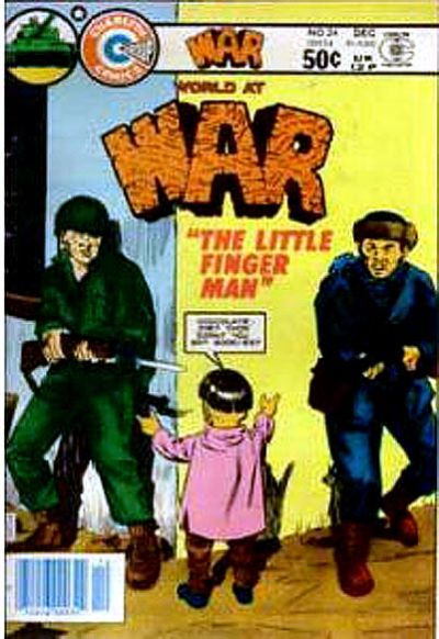 Cover for War (Charlton, 1975 series) #24