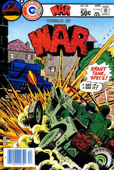 Cover for War (Charlton, 1975 series) #26