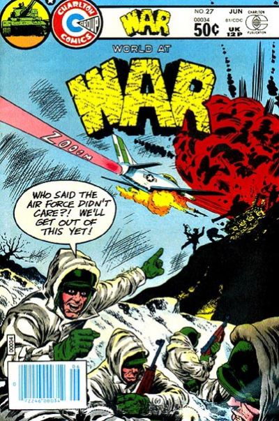 Cover for War (Charlton, 1975 series) #27