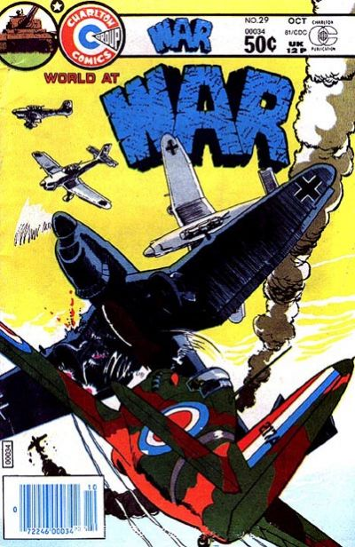 Cover for War (Charlton, 1975 series) #29