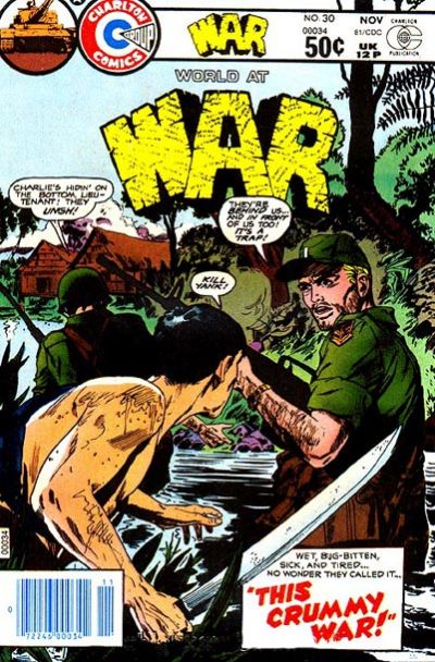 Cover for War (Charlton, 1975 series) #30