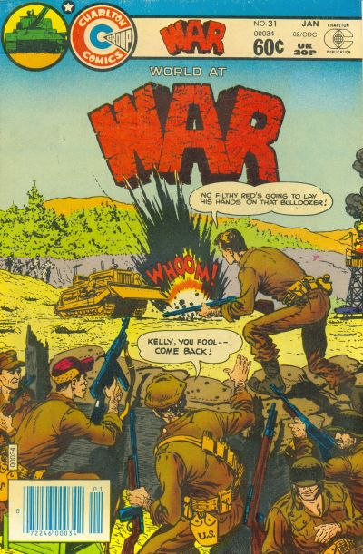 Cover for War (Charlton, 1975 series) #31