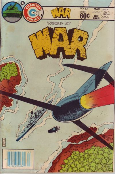 Cover for War (Charlton, 1975 series) #32