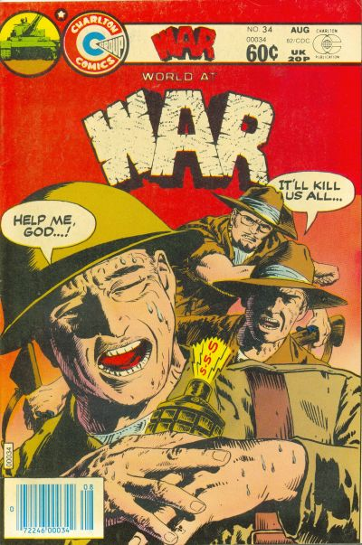 Cover for War (Charlton, 1975 series) #34