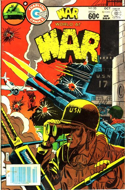 Cover for War (Charlton, 1975 series) #35