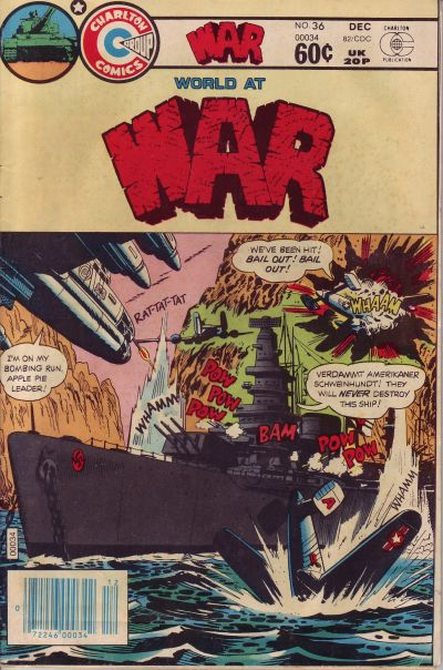 Cover for War (Charlton, 1975 series) #36
