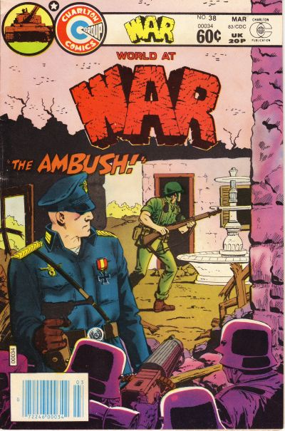 Cover for War (Charlton, 1975 series) #38