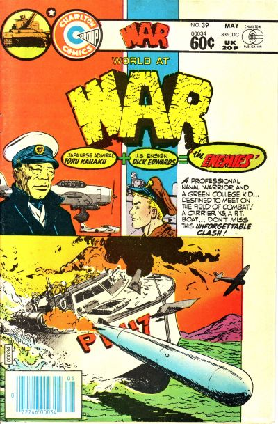 Cover for War (Charlton, 1975 series) #39