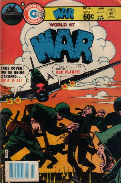Cover for War (Charlton, 1975 series) #44