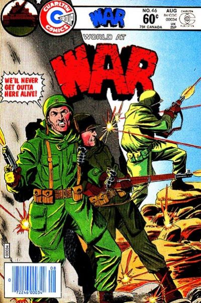 Cover for War (Charlton, 1975 series) #46