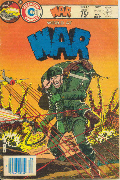 Cover for War (Charlton, 1975 series) #47